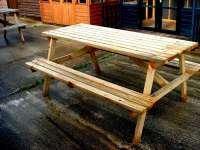 Picnic Table - garden - cornwall