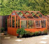 Tanalised Greenhouse - Cornwall
