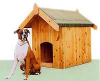 Timber Dog Kennel / Pet Houses - Cornwall