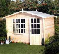 Summerhouse - New Bow Window Chalet - Garden - Cornwall