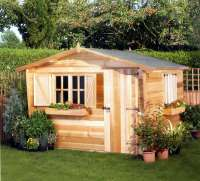 Summerhouse - Holiday Cabin - Garden - Cornwall