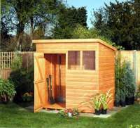 Shed - Tanalised Sovereign Pent - Garden Storage - Cornwall