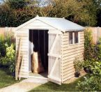 Shed - Tanalised Feather Edge - Garden Storage - Cornwall