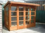 Summerhouse / Chalet - Como with Georgian Windows and Doors - Garden - Timber- Cornwall