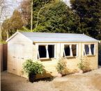 Workshop / Shed - Big Apex Garden - Cornwall