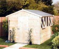 Traditional Shed for the Garden